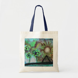 """The Trinity River"" Oil Pastel By Levi Glassrock Tote Bag"