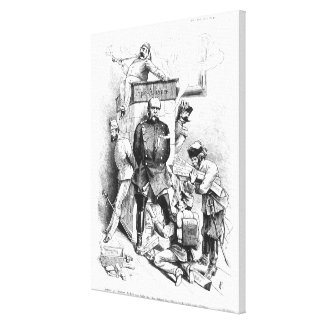 The Triple Alliance, from 'Bismarck Canvas Print