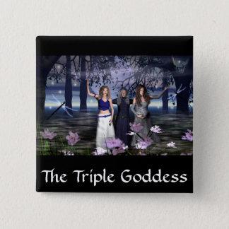 The Triple Goddess Pinback Button