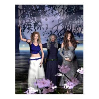 The Triple Goddess Postcard