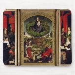 The Triptych of Moses and the Burning Bush Mouse Pad