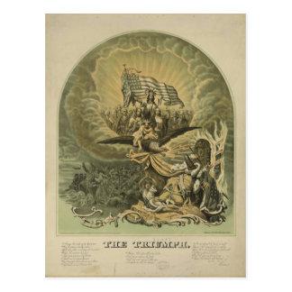 The Triumph Break Every Yoke Let the Oppressed Go Postcard