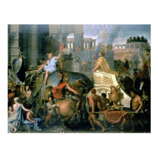 The Triumph of Alexander, or the Entrance of Alexa Postcard