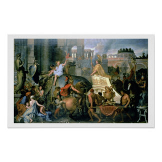 The Triumph of Alexander, or the Entrance of Alexa Poster