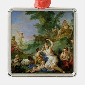 The Triumph of Bacchus Metal Ornament