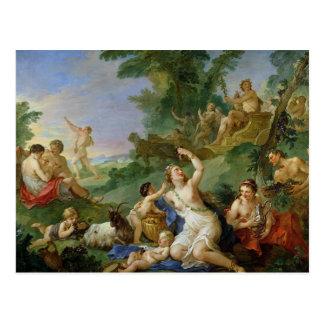 The Triumph of Bacchus Postcard