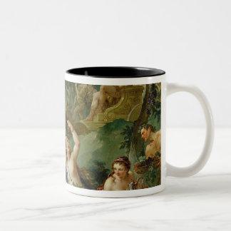 The Triumph of Bacchus Two-Tone Coffee Mug