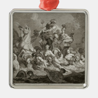 The Triumph of Britannia, c.1765 (engraving) Metal Ornament
