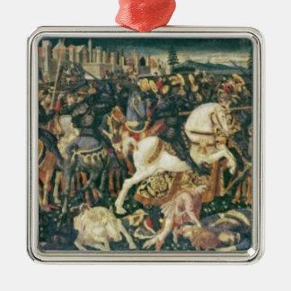 The Triumph of David and Saul, c.1445-55 Metal Ornament