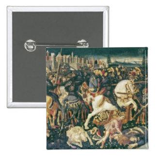 The Triumph of David and Saul, c.1445-55 Pinback Button