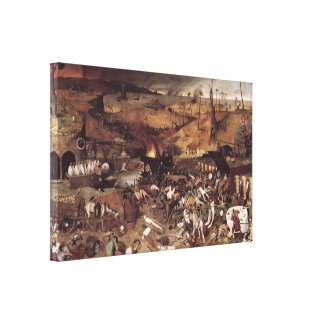 The Triumph of Death by Peter Bruegel Canvas Print
