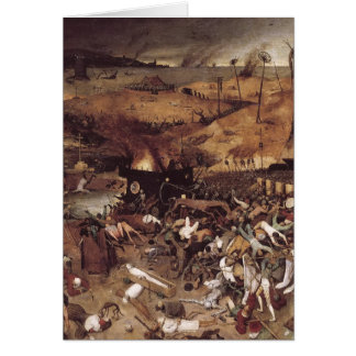 The Triumph of Death by Peter Bruegel Greeting Cards
