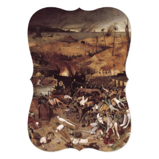 The Triumph of Death by Peter Bruegel Card
