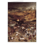 The Triumph of Death by Peter Bruegel Stationery Note Card
