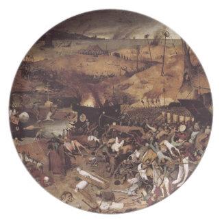 The Triumph of Death by Peter Bruegel Dinner Plate