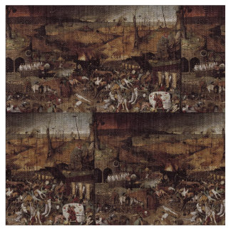 The Triumph of Death by Peter Bruegel Fabric
