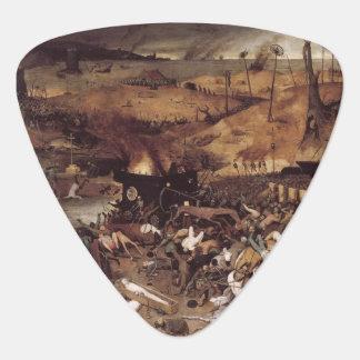 The Triumph of Death by Peter Bruegel Guitar Pick