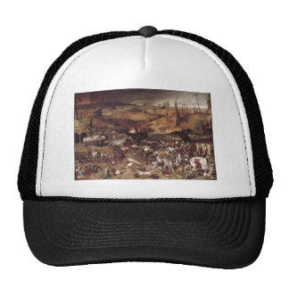 The Triumph of Death by Peter Bruegel Mesh Hat