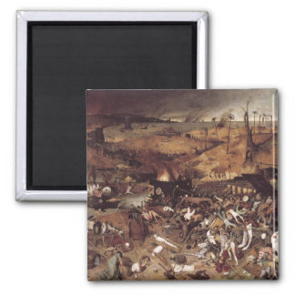 The Triumph of Death by Peter Bruegel Magnet