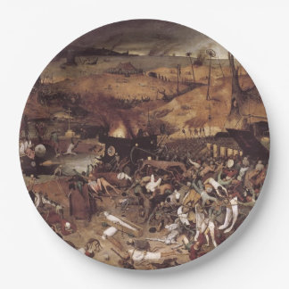 The Triumph of Death by Peter Bruegel Paper Plate
