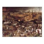 The Triumph of Death by Peter Bruegel Postcard