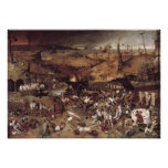 The Triumph of Death by Peter Bruegel Poster