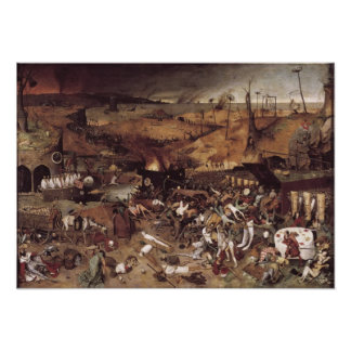 The Triumph of Death by Peter Bruegel Print