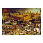The Triumph of Death by Pieter Bruegel the Elder 3.5x5 Paper Invitation Card