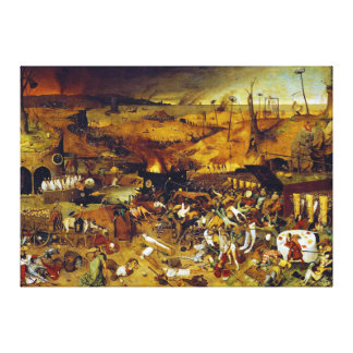 The Triumph of Death by Pieter Bruegel the Elder Stretched Canvas Prints