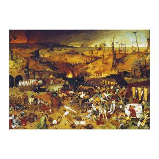 The Triumph of Death by Pieter Bruegel the Elder Canvas Print