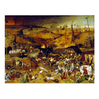 The Triumph of Death by Pieter Bruegel the Elder Postcard