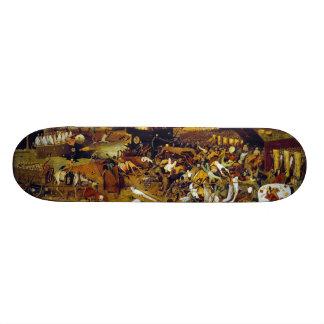 The Triumph of Death by Pieter Bruegel the Elder Skateboard Deck