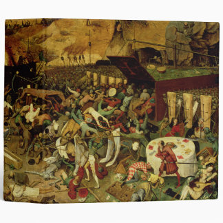 The Triumph of Death, c.1562 (oil on panel) 3 Ring Binder