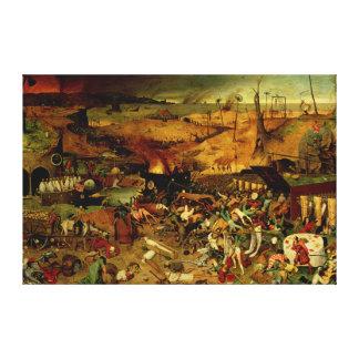 The Triumph of Death, c.1562 (oil on panel) Canvas Print