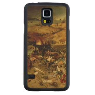 The Triumph of Death, c.1562 (oil on panel) Carved Maple Galaxy S5 Case