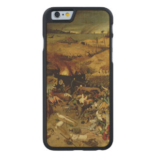 The Triumph of Death, c.1562 (oil on panel) Carved® Maple iPhone 6 Slim Case