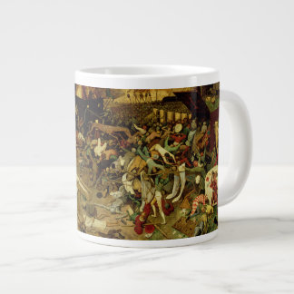 The Triumph of Death, c.1562 (oil on panel) Large Coffee Mug