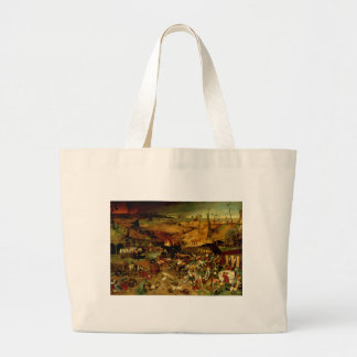 The Triumph of Death, c.1562 (oil on panel) Large Tote Bag