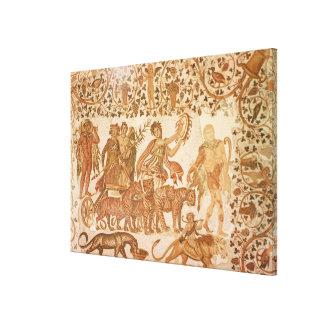 The Triumph of Dionysus Canvas Print