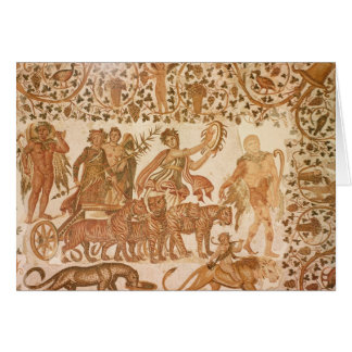 The Triumph of Dionysus Card