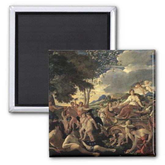 The Triumph of Flora, c.1627-28 Magnet