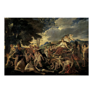 The Triumph of Flora, c.1627-28 Poster