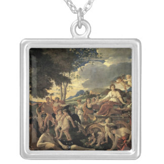 The Triumph of Flora, c.1627-28 Silver Plated Necklace
