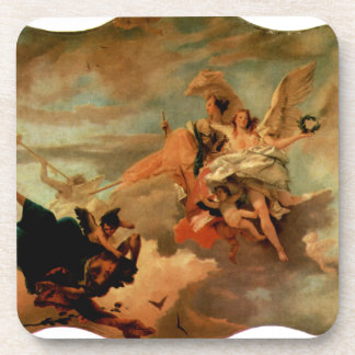 The Triumph of Fortitude and Sapiency by Giovanni Beverage Coaster