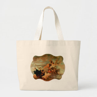 The Triumph of Fortitude and Sapiency by Giovanni Large Tote Bag