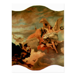The Triumph of Fortitude and Sapiency by Giovanni Postcard