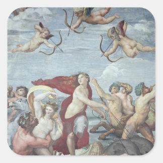 The Triumph of Galatea, 1512-14 Square Sticker