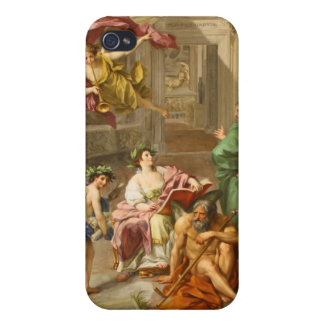 The Triumph of History over Time by Anton R Mengs iPhone 4 Case