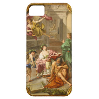 The Triumph of History over Time by Anton R Mengs iPhone SE/5/5s Case