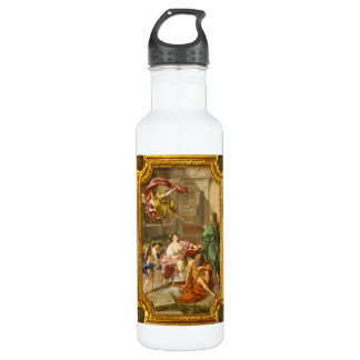 The Triumph of History over Time by Anton R Mengs 24oz Water Bottle